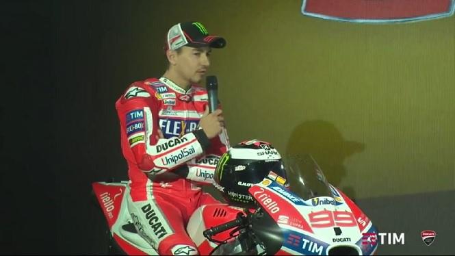 Jorge+Lorenzo+presenta+la+seva+Ducati