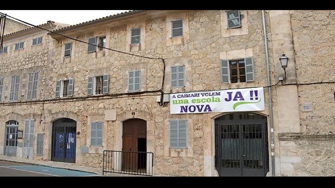 Caimari+reclama+una+nova+escola
