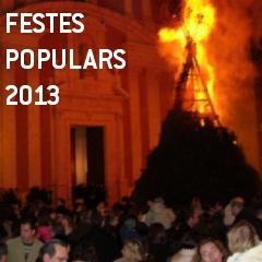 FESTES POPULARS 2013