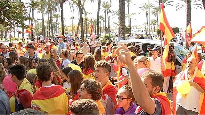 Unes+350+persones+a+Palma%3A+%26%238220%3BEspanya+no+es+trenca%26%238221%3B