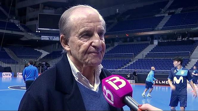 Jos%C3%A9+Mar%C3%ADa+Garc%C3%ADa+analitza+el+Palma+Futsal