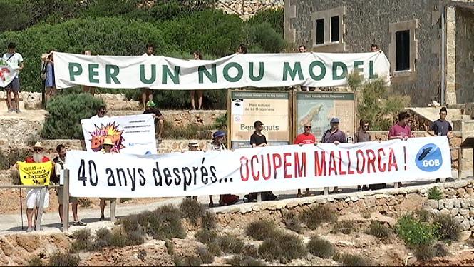 El+Gob+torna+a+ocupar+Sa+Dragonera+i+reclama+mesures+contra+la+saturaci%C3%B3+a+Mallorca
