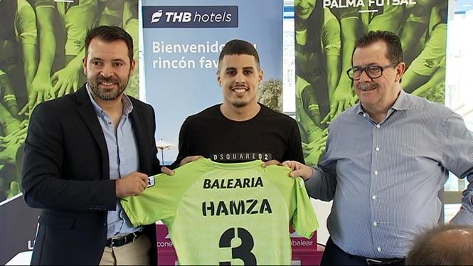 El+Palma+Futsal+presenta+Hamza