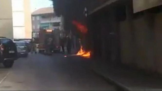 Un+virulent+incendi+calcina+un+local+a+Son+Rapinya