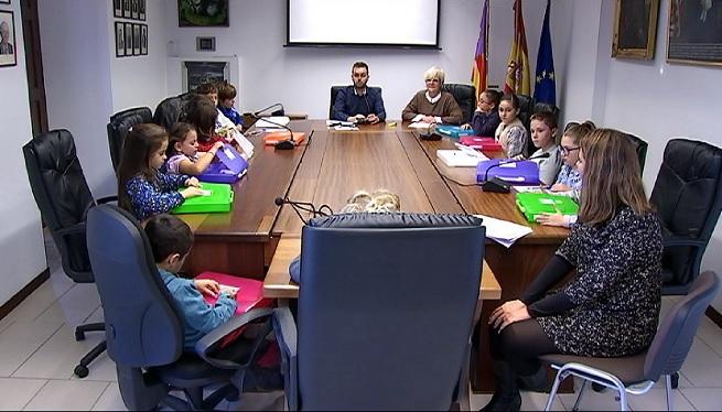 Binissalem+reuneix+el+primer+Consell+Municipal+dels+Infants