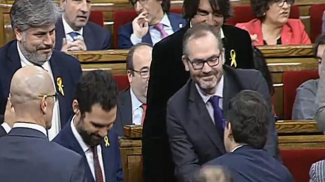 Els+sobiranistes+tornen+a+controlar+la+mesa+del+Parlament+de+Catalunya