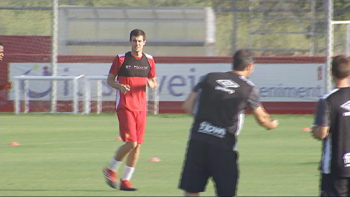 Primer+entrenament+de+N%C3%A9stor+Salinas+amb+el+Mallorca