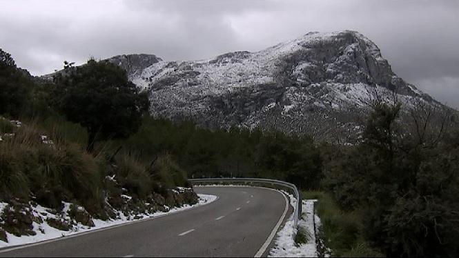 Es+comen%C3%A7a+a+notar+el+temporal+a+Mallorca