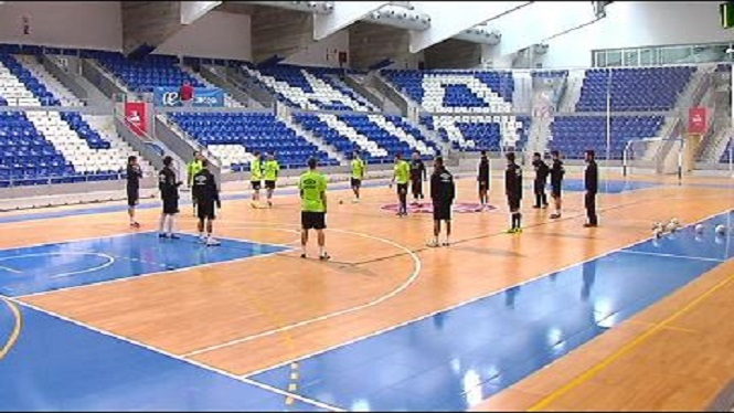 El+Palma+Futsal+prepara+el+partit+contra+el+Bar%C3%A7a
