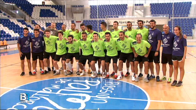 Primer+entrenament+del+Palma+Futsal+amb+5+cares+noves