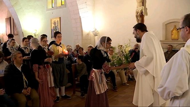 Els+inquers+celebren+el+Pancaritat+al+Puig+de+Santa+Magdalena