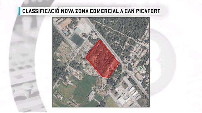 Controv%C3%A8rsia+per+la+classificaci%C3%B3+d%27una+nova+parcel%C2%B7la+comercial+de+pr%C3%A0cticament+4+hect%C3%A0rees+a+Can+Picarfort