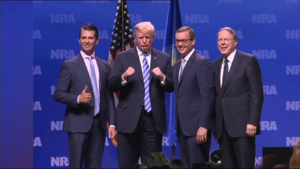 Trump+participa+a+la+convenci%C3%B3+de+l%27Associaci%C3%B3+Nacional+del+Rifle