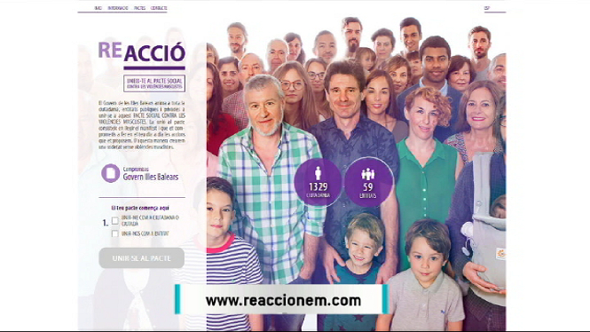 Arrenca+la+campanya+ReAcciona+contra+la+viol%C3%A8ncia+masclista