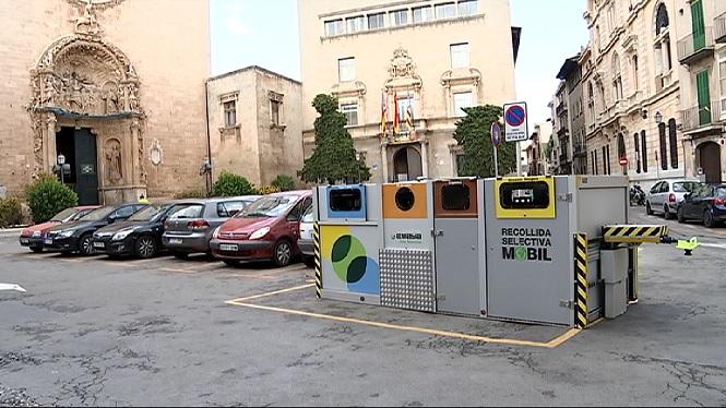 El+reciclatge+arriba+al+75%25+amb+la+recollida+selectiva+m%C3%B2bil+a+Palma