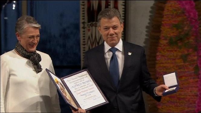 Santos+afirma+que+el+Nobel+de+la+Pau+%C3%A9s+de+tots+els+colombians