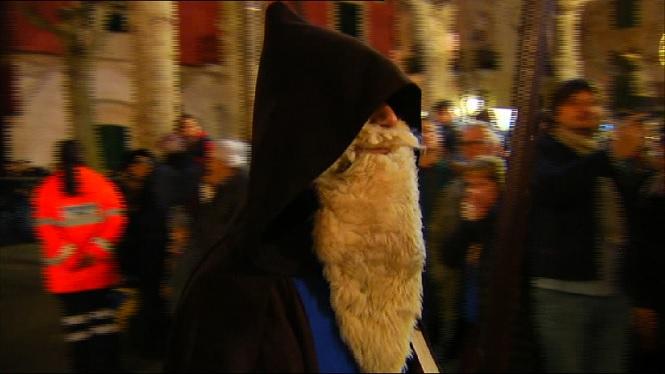 Sa+Pobla+celebra+la+Revetlla+de+Sant+Antoni
