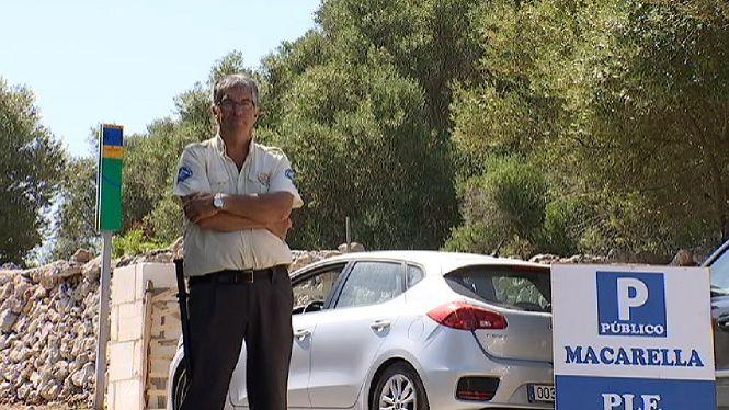 Tres+vigilants+de+seguretat+controlaran+els+accesos+a+les+platges+verges+de+Ciutadella