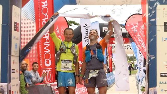Pere+Garau+i+Antoine+Guillon+triomfen+a+la+Trail+Menorca+Cam%C3%AD+de+Cavalls