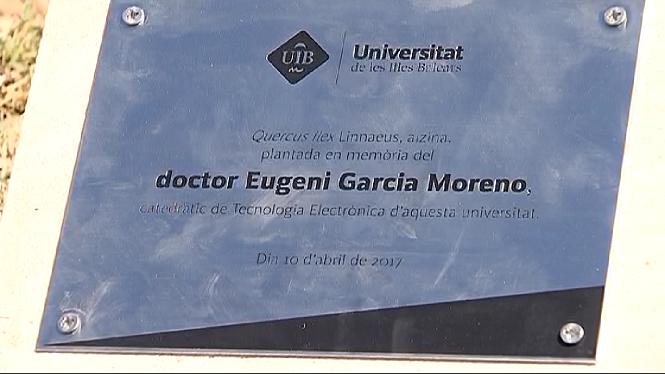 La+UIB+ret+homenatge+al+doctor+Eugeni+Garcia+Moreno