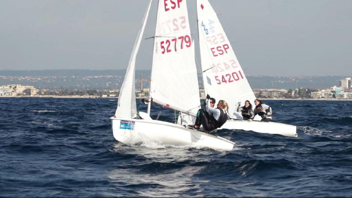La+flota+de+la+Copa+del+Rei+ja+navega+a+la+Badia+de+Palma
