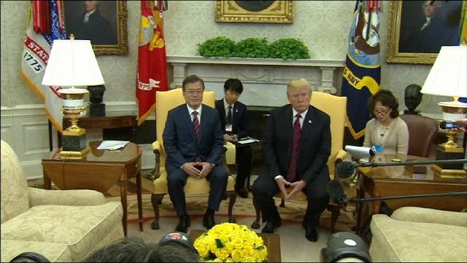 Incertesa+entorn+a+la+reuni%C3%B3+entre+Donald+Trump+i+Kim+Jong-un+prevista+pel+12+de+juny