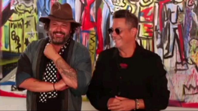 El+pintor+mallorqu%C3%AD+Domingo+Zapata+i+el+cantant+Alejandro+Sanz+inauguren+una+exposici%C3%B3+conjunta+a+Nova+York